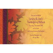 Fall Forward Custom Invitation