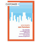 New Home in the City Custom Invitation