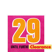 29 Again 30th Birthday Beverage Napkins 16ct