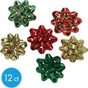Tidings of Joy Petite Bows 3in x 3in x 1in 12ct