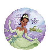 Foil Purple Princess and the Frog Balloon 18in