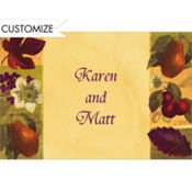 Nature's Scrapbook Custom Thank You Note