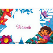 Dora the Explorer Custom Thank You Note