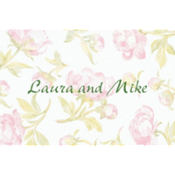 Soft Peony Background Custom Thank You Note