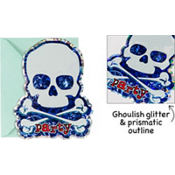 Party Bones Large Invitations 8ct