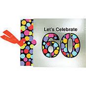 60th Birthday Jumbo Invitations 8ct
