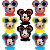 Mickey Mouse Cake Toppers 8ct