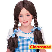 Child Wizard of Oz Dorothy Wig