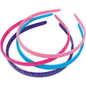 Multi Color Headbands 4ct