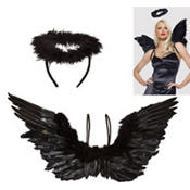 Black Angel Costume Kit