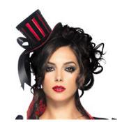 Mini Velvet Top Hat