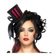 Mini Velvet Top Hat
