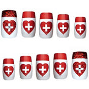 Fancy Nurse Nails