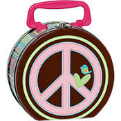 Hippie Chick Metal Box