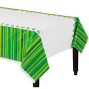 St. Patricks Day Cheer Plastic Table Covers 54in x 84in 3ct