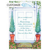 Front Door Custom Invitation