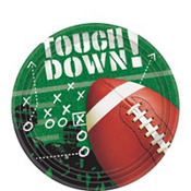 Football Frenzy Dessert Plates 50ct