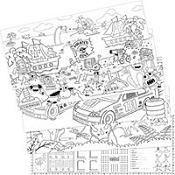 Adventure Coloring Banners 5ct