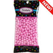 Pink Chocolate Sixlets 450pc