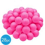 Bright Pink Gumballs 28pc