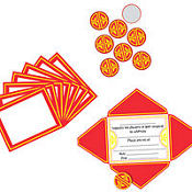 Chinese Red Envelope Invitations 8ct