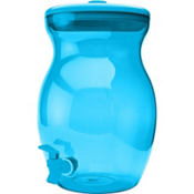 Caribbean Blue Beverage Dispenser