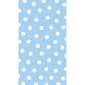 Pastel Blue Polka Dot Hand Towels 16ct