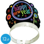 New Years Party Tiaras 12ct <span class=messagesale><br><b>49¢ per piece!</b></br></span>