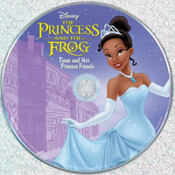The Princess and The Frog Princess Tiana & Her Princess Friends CD