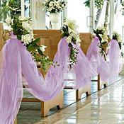 Lavender Tulle 65yd