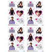 Justin Bieber Tattoos 4 Sheets