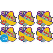 Fiesta Cutout 8in 12ct