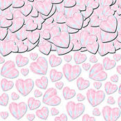 Iridescent Hearts Confetti 2 1/2oz