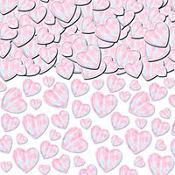 Iridescent Heart Confetti