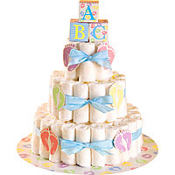 Baby Feet Diaper Cake Kit