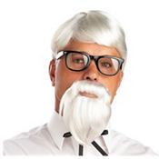 The Colonel Wig & Moustache