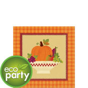 Autumn In The Country Beverage Napkins 16ct