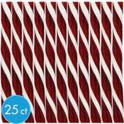 Chocolate Brown Candy Sticks 25ct