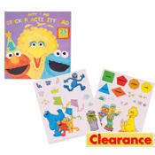 Sesame Street 1st Birthday Activity Pad