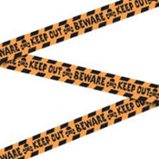 Halloween Keep Out Caution Tape 100ft