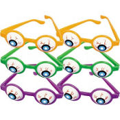 Halloween Eyeball Glasses 6ct