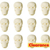 Skull Icing Decorations 12ct
