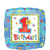 One-derful Boy Foil Balloon 18in