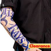 Tampa Bay Rays Tattoo Sleeves 2ct