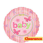 Foil Carters Baby Girl Balloon 18in