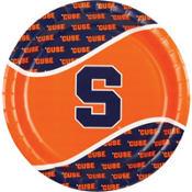 Syracuse Orange Lunch Plates 8ct
