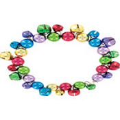 Jingle Bell Holiday Bracelet 7in