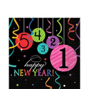 Wild New Year Lunch Napkins 16ct