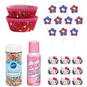 Hello Kitty Cupcake Decorating Kit