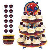 Spiderman Cupcake Kit For 24